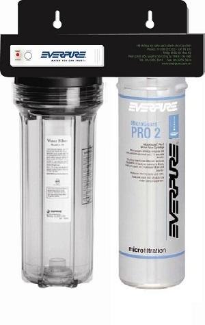 Thiết bị lọc nước uống còn khoáng Microguard Pro2 Everpure
