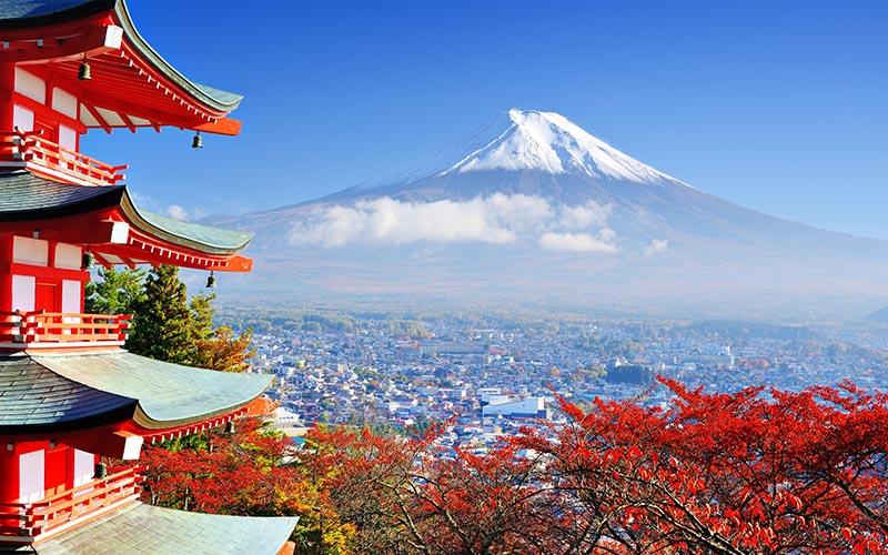 Du lịch Nhật Bản - Tokyo - Yamanashi - Núi Phú Sĩ