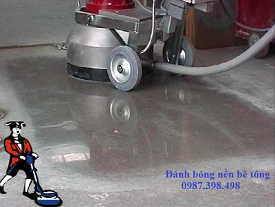 Dịch vụ mài và đánh bóng sàn bê tông