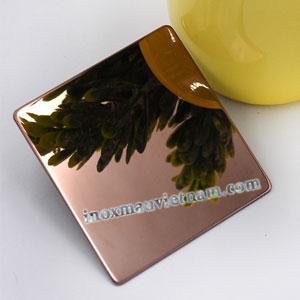 Inox Gương Vàng Đồng
