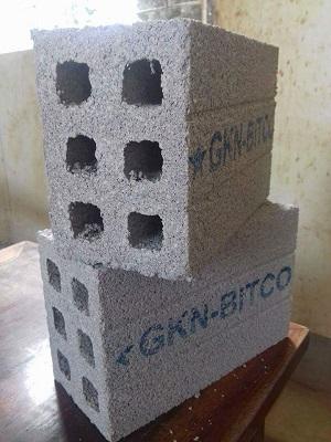 Gạch không nung xi măng cốt liệu B-GKN