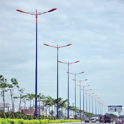 Sản xuất và thi công lắp đặt hệ thống chiếu sáng