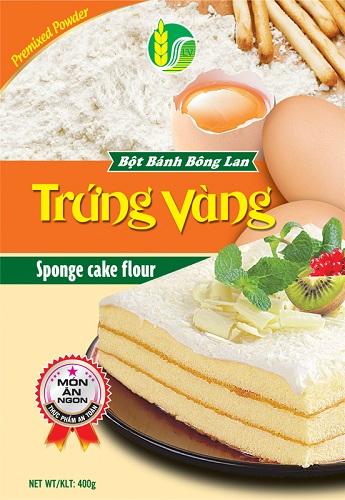 Bột bánh Bông lan Trứng Vàng