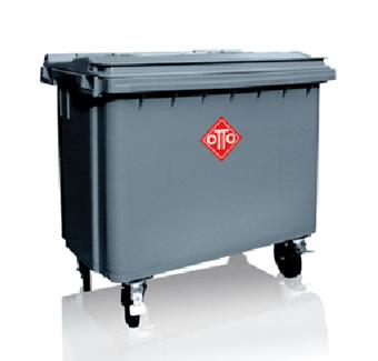 Thùng rác nhựa HDPE OTTO MGB 660L