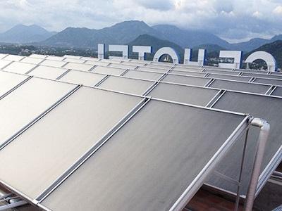 Hệ thống nước nóng năng lượng mặt trời dạng công nghiệp