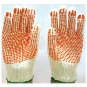 Găng tay len hạt nhựa PVC