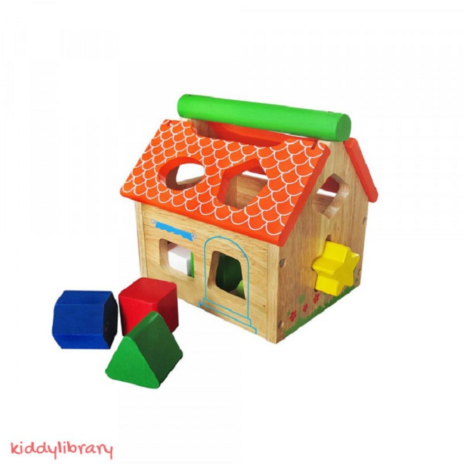 Nhà gỗ 12 khối
