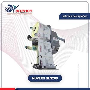 Máy Dán Mã Vạch Tự Động Novexx XLS 209