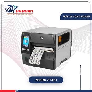 Máy In Mã Vạch Công Nghiệp Zebra ZT421