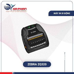 Máy In Mã Vạch Di Động Zebra ZQ320