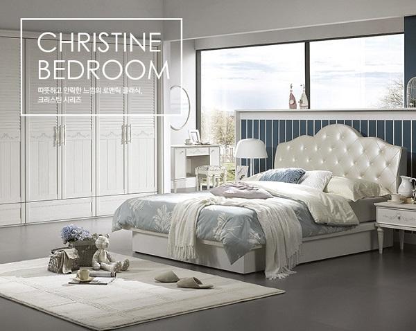 Dịch vụ thiết kế thi công nội thất phòng ngủ Christine