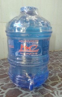 Nước uống đóng bình có vòi 19L