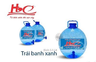 Nước uống đóng bình trái banh 5.5L