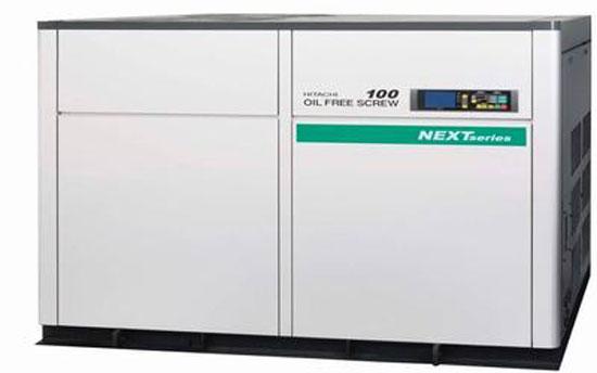 Máy nén khí trục vít không dầu Hitachi NEXT series