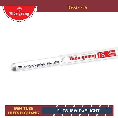 Bóng đèn huỳnh quang Điện Quang FL T8 18W DAYLIGHT