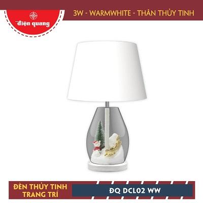 Đèn thủy tinh trang trí Điện Quang ĐQ DCL02 WW