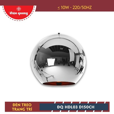 Đèn treo trang trí Điện Quang ĐQ HDL03 D150CH
