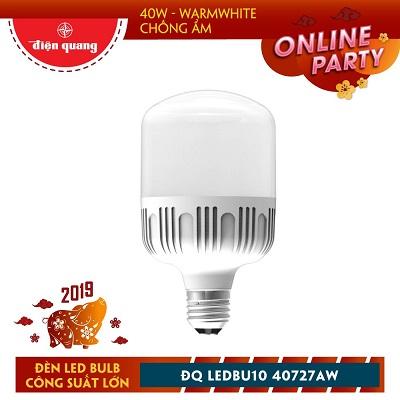 Đèn LED Bulb công suất lớn Điện Quang ĐQ LEDBU10 40727AW