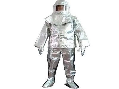 Bộ quần áo tráng bạc chịu nhiệt