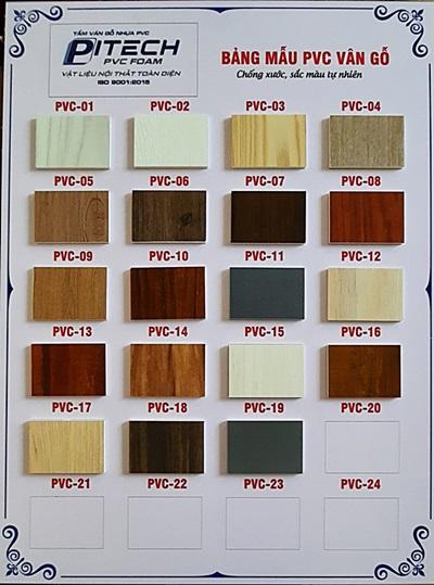Tấm phủ phim PVC vân gỗ cao cấp