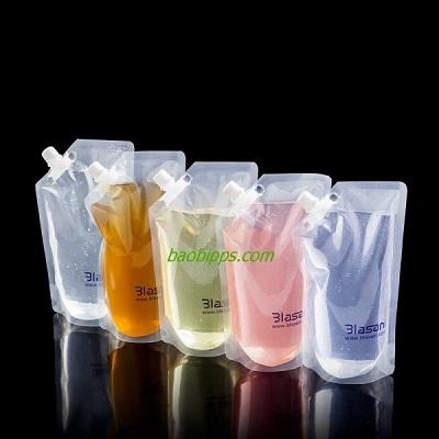 Túi nhựa PVC đựng đồ uống 3102