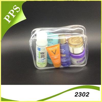 Túi hộp PVC đựng mỹ phẩm 2302