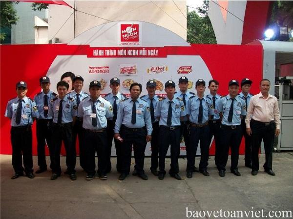 Dịch vụ bảo vệ sự kiện, triển lãm