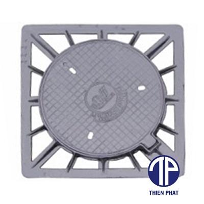 Bộ khung vuông âm nắp tròn TP-KVANT-09
