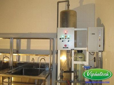 Hệ thống nước Ozone rửa thực phẩm