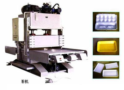 Máy cắt thủy lực hộp cơm xốp