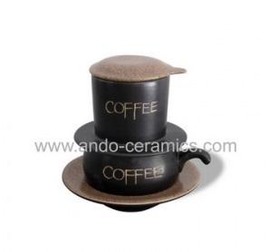 Phin gốm pha cafe