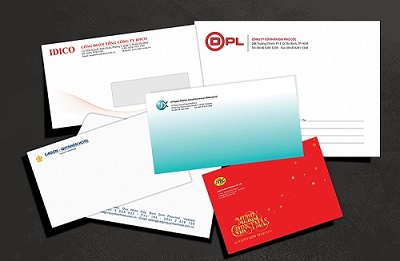 Thiết kế và in ấn bao thư