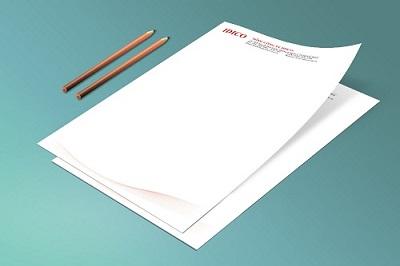 Thiết kế và in ấn giấy tiêu đề