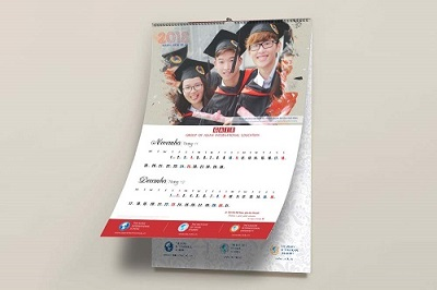 Thiết kế và in ấn lịch