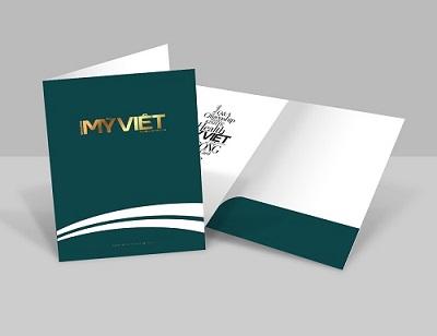 Thiết kế và in ấn bìa sơ mi