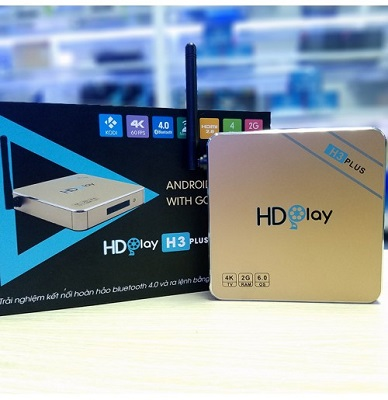 Android TV box HDplay H3 plus