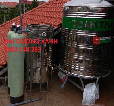 Hệ thống lọc và xử lý nước giếng khoan gia đình CTH C-2-200