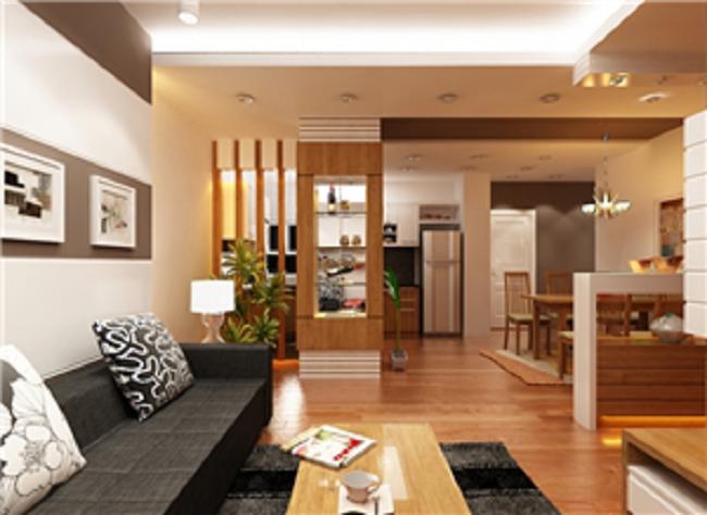 Dịch vụ thiết kế, thi công nội thất phòng khách