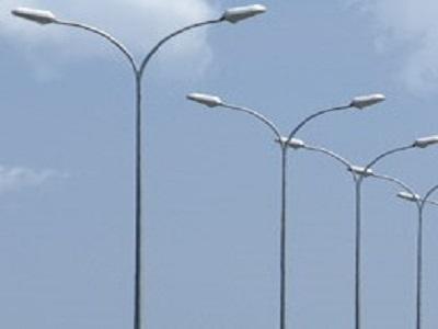 Cột đèn chiếu sáng tròn côn rời cần TC-D78