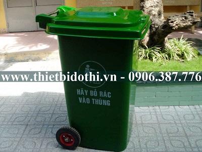 Thùng rác composite 120 lít
