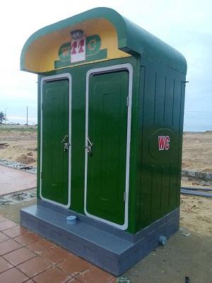 Nhà vệ sinh 2 phòng cố định