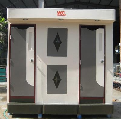 Nhà vệ sinh 2 phòng tiện nghi