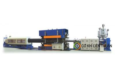 Máy sản xuất ống gợn sóng thành ống kép