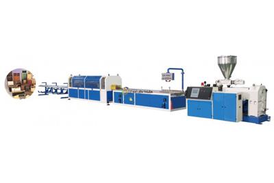 Máy sản xuất nhựa Profile PVC