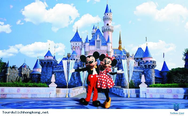 Du lịch Hongkong - Disneyland