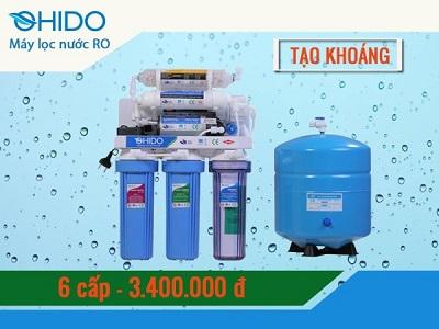 Máy lọc nước RO Ohido T8080 6 cấp lọc