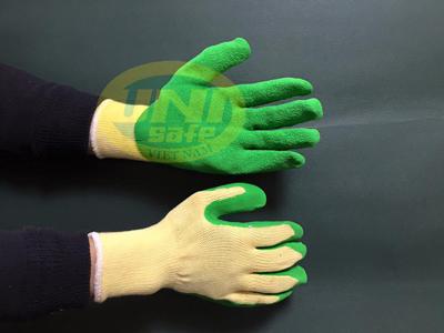 Găng tay bảo hộ tráng cao su sần