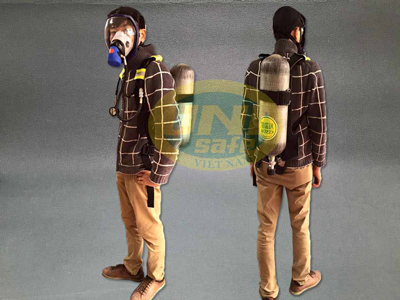 Mặt nạ phòng độc có bình oxy Mn05