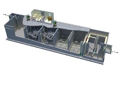 Bể xử lý nước thải AFSB – C