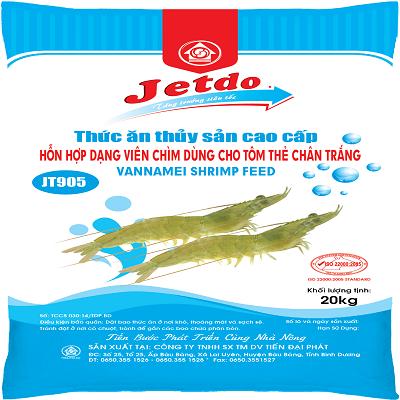 Thức ăn cho tôm JT905